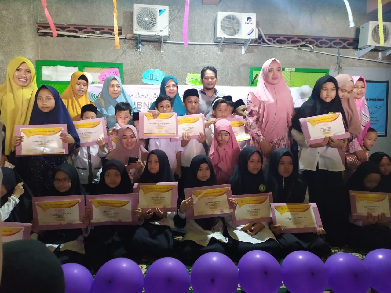 Kegiatan Munaqosyah Tahfidzul Qur'an dan Assembly