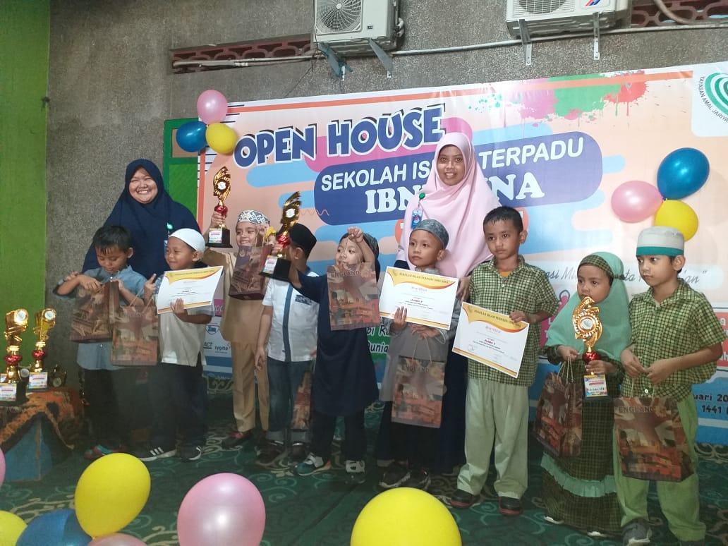 Open House TKIT dan SDIT Ibnu Sina Makassar